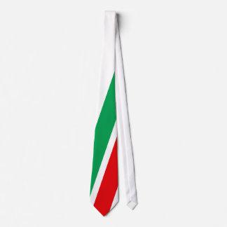 Italia - fútbol de Squadra Azzurra Corbata Personalizada
