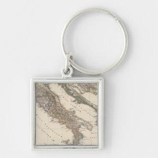 Italia, Gallia cisalpina, Sicilia, Sardinia Keychain