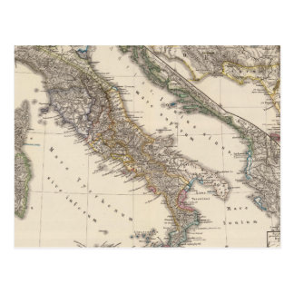 Italia, Gallia cisalpina, Sicilia, Sardinia Postcard
