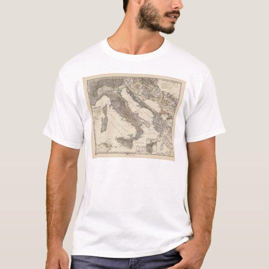 Italia, Gallia cisalpina, Sicilia, Sardinia T-Shirt