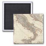 Italia, Gallia citerior, Illyricum, Sicilia 2 Inch Square Magnet