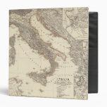 Italia, Gallia citerior, Illyricum, Sicilia 3 Ring Binder