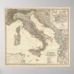 Italia, Gallia citerior, Illyricum, Sicilia Print
