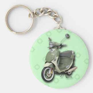 Italia Genuine Buddy International scooter Keychain