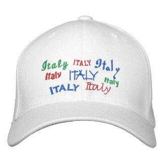 Italia Gorras De Béisbol Bordadas
