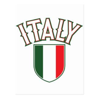 Italia grande e intrépida tarjetas postales