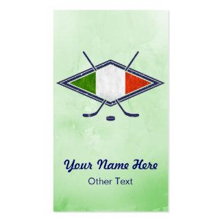 Italia Hockey Su Ghiaccio Custom Business Cards