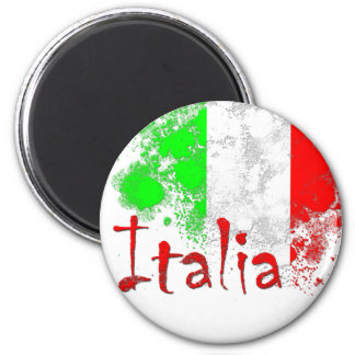 Italia Imán Redondo 5 Cm