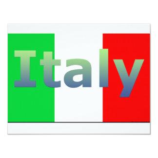 """Italia Invitación 4.25"""" X 5.5"""""""