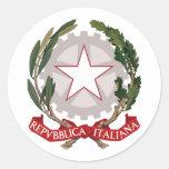 Italia, Italia Etiqueta Redonda