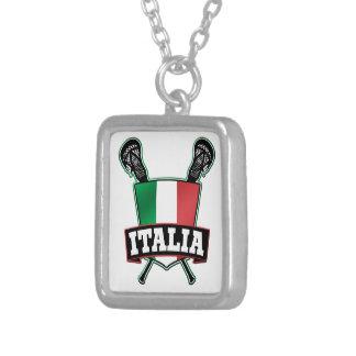 Italia Italia LaCrosse Colgante Cuadrado