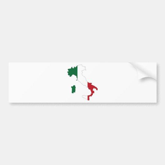 Italia/Italia Pegatina Para Auto