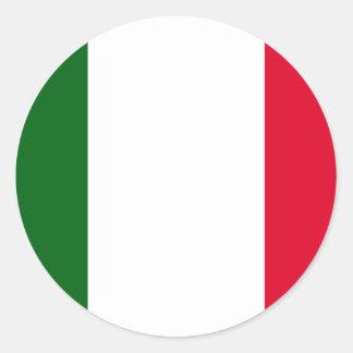 Italia Italia Pegatinas Redondas