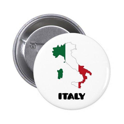 Italia/Italia Pin Redondo 5 Cm