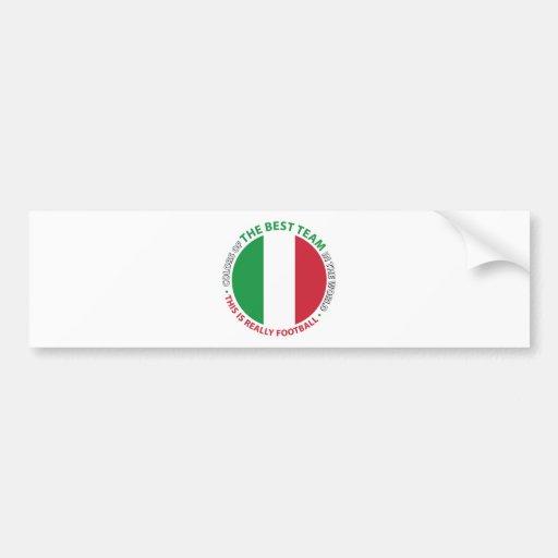 Italia Italy Art Shield Pegatina De Parachoque