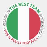 Italia Italy Art Shield Pegatinas