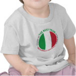 Italia Italy Art Shield Tee Shirts