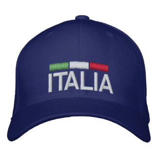 ITALIA Italy Embroidered Baseball Cap
