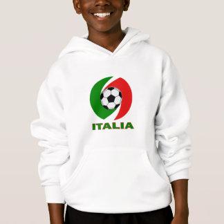 Italia Italy Flag Ball Design Hoodie