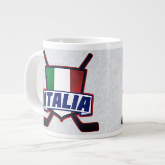 Italia Italy Hockey su Ghiaccio Mug
