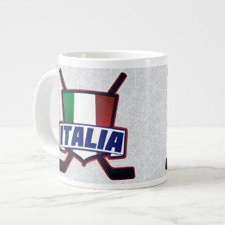 Italia Italy Hockey su Ghiaccio Mug 20 Oz Large Ceramic Coffee Mug