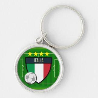 Italia Italy Soccer Keychain