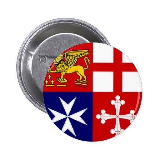 Italia Jack naval Pin