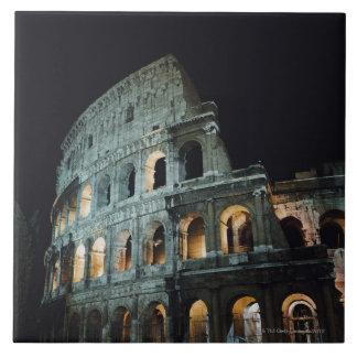 Italia, Lazio, Roma Azulejo Cuadrado Grande