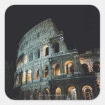 Italia, Lazio, Roma Calcomania Cuadradas