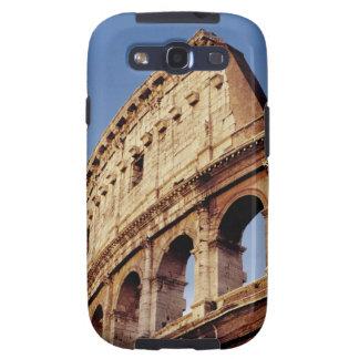 Italia, Lazio, Roma, el Colosseum en la puesta del Galaxy SIII Cárcasa