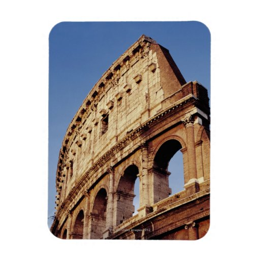 Italia, Lazio, Roma, el Colosseum en la puesta del Iman Rectangular