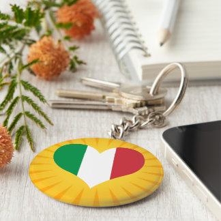 Italia linda superventas llavero redondo tipo pin