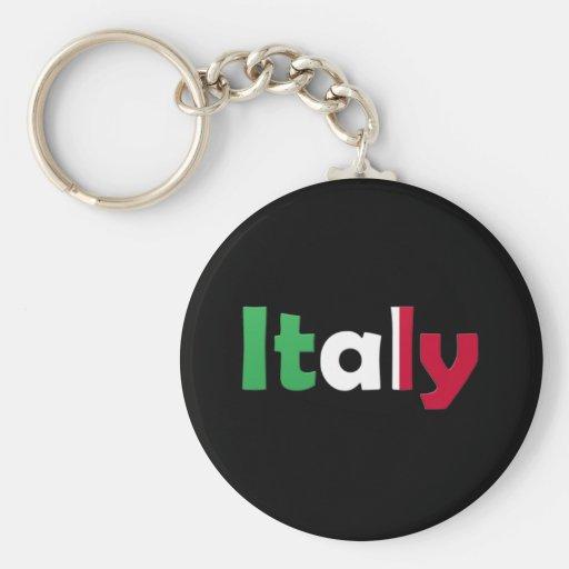 Italia Llavero Redondo Tipo Pin