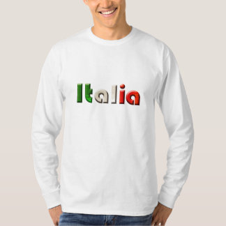 Italia logo gifts for Italians and Italy lovers T Shirt