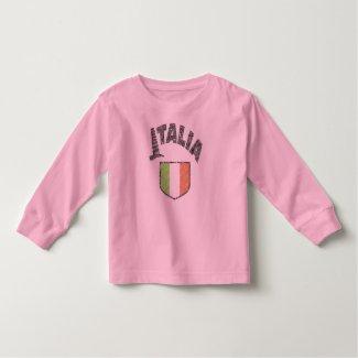 Italia Long Sleeve Toddler Shirt