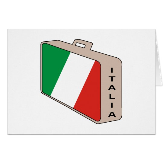 Italia Luggage Card