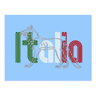 Italia Lupos appenninico Italian wolf gifts Postcard