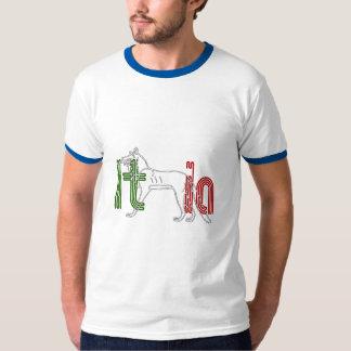 Italia Lupos appenninico Italian wolf gifts T Shirt
