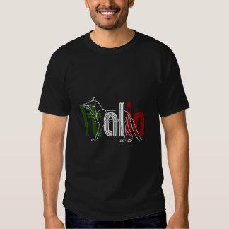 Italia Lupos appenninico Italian wolf gifts Tee Shirt