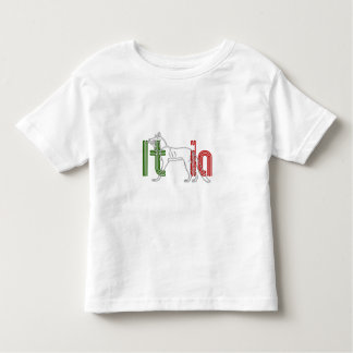 Italia Lupos appenninico Italian wolf gifts Toddler T-shirt
