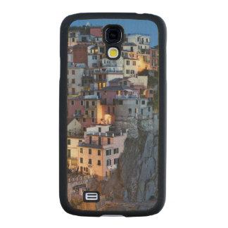 Italia, Manarola. La oscuridad cae en una ciudad Funda De Galaxy S4 Slim Arce
