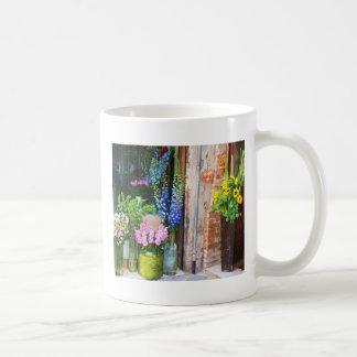 Italia - mercado de la flor - GIRASOLES Tazas De Café
