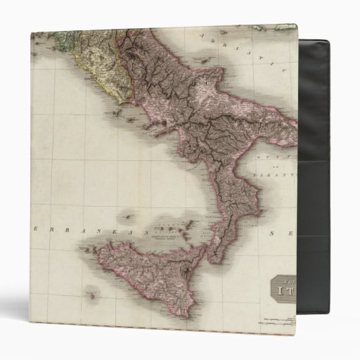 "Italia meridional carpeta 1 1/2"""
