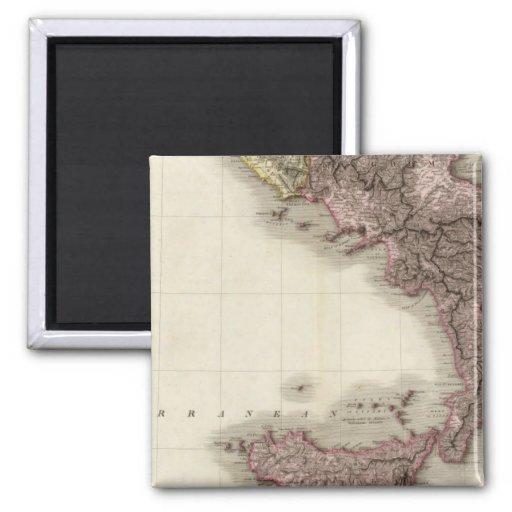 Italia meridional imanes de nevera