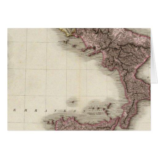 Italia meridional tarjetón