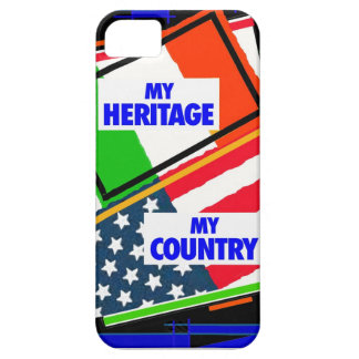 Italia,… mi herencia, los E.E.U.U.,… mi país Funda Para iPhone SE/5/5s