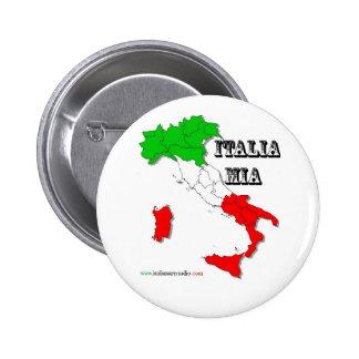 Italia mia Button