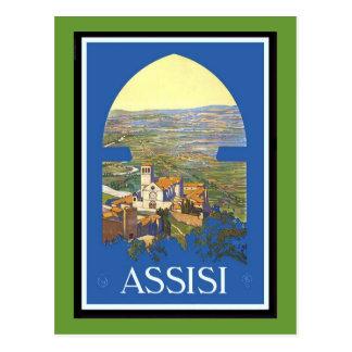 Italia Milano Assisi Napoli Verona San Remo Postales