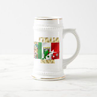 Italia MMX Italy flag soccer players artwork gifts Coffee Mugs
