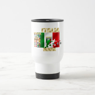Italia MMX Italy flag soccer players artwork gifts Mugs